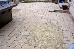 Tumbled Paver Patio