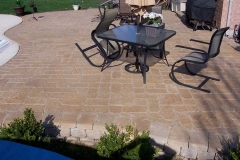 Tumbled Patio