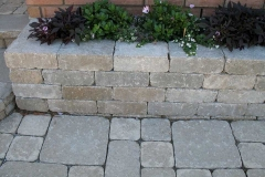 Tumbled Walkway and Garden Wall