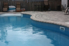 Pool Deck with Bullnose Border