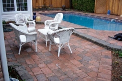 Tumbled Patio and Pool Deck.