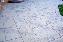 #12 Stamped York Stone Pattern.