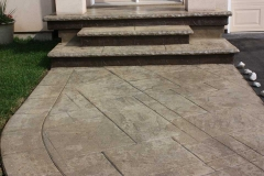 #77 York Stone Pattern. Rock Texture Bullnose.