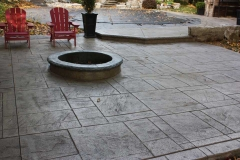 #30 York Stone Pattern with Fire Pit.