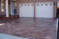 #65 Stamped Concrete York Stone Pattern.