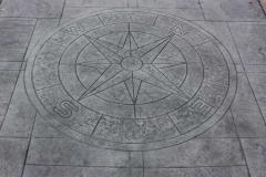 Compass Stamp.