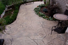 #23 Stamped Arizona Flagstone.