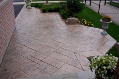 #25 Stamped York Stone Pattern