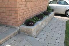Tumbled Walkway and Garden Wall