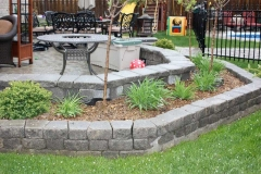 Retaining wall and Garden Walls