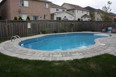 Tumbled Pool Deck