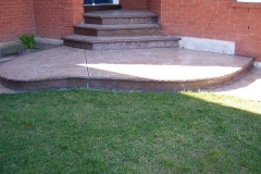 #9 Stamped York Stone Pattern with Bullnose